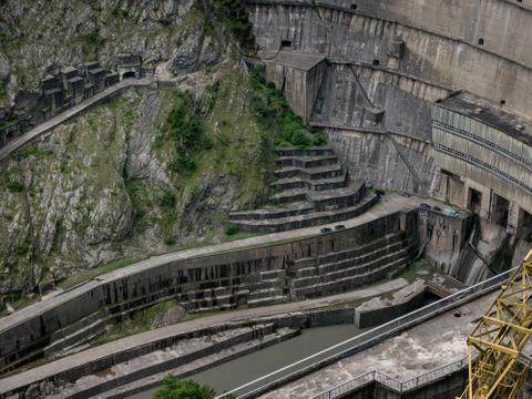 Enguri Dam, near Jvari, 2015