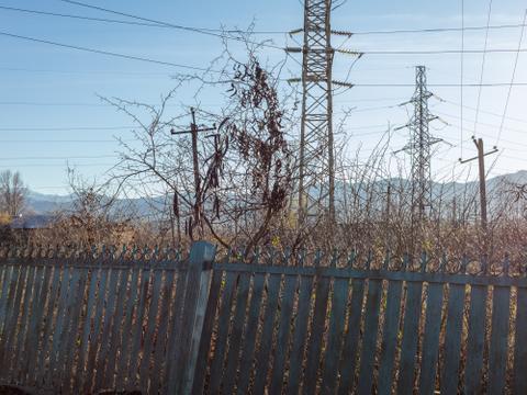 Blue Fence, Sestaponi, 2017