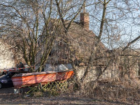 Boat, Alt-Biesdorf, 2017